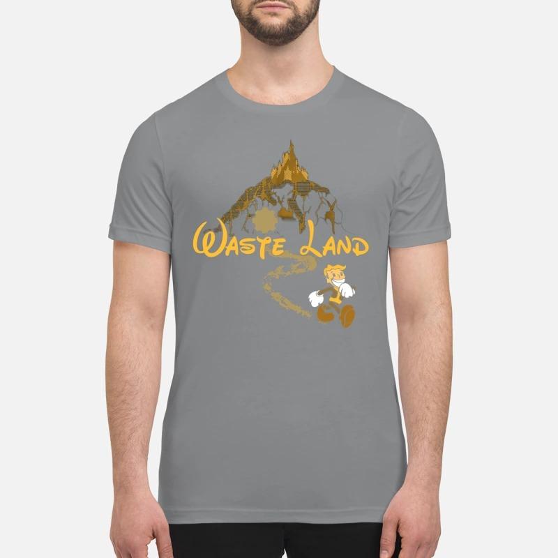 West Virginia wasteland disney premium shirt