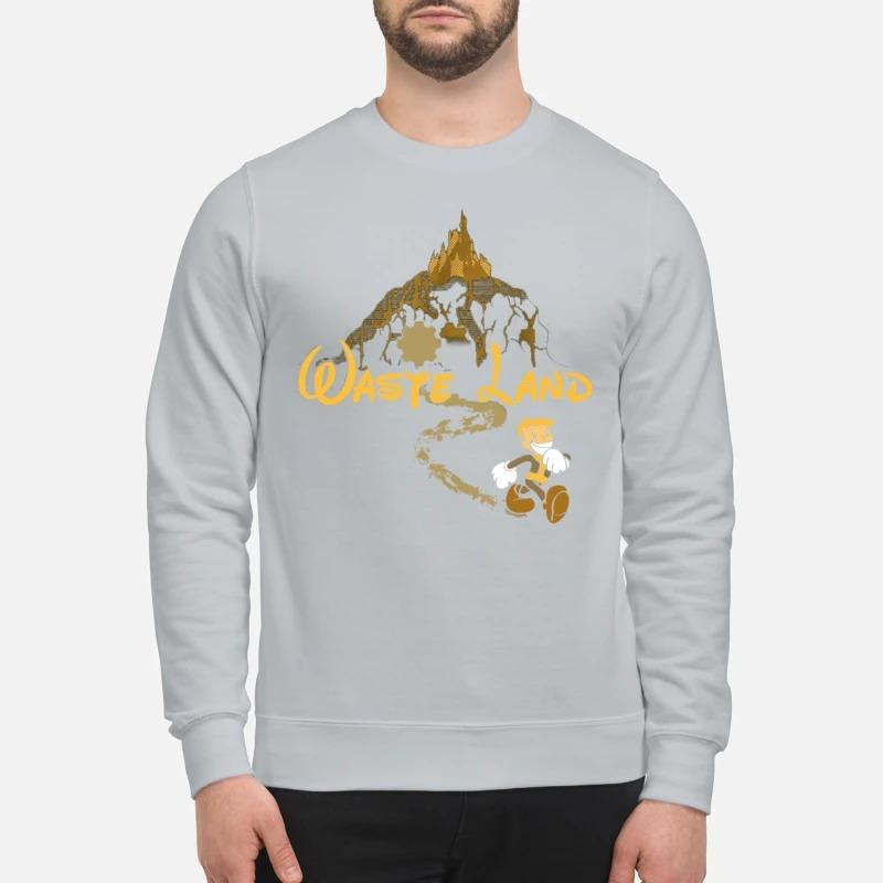 West Virginia wasteland disney sweatshirt