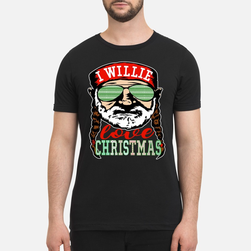 Willie Nelson I willie love Christmas shirt and sweatshirt
