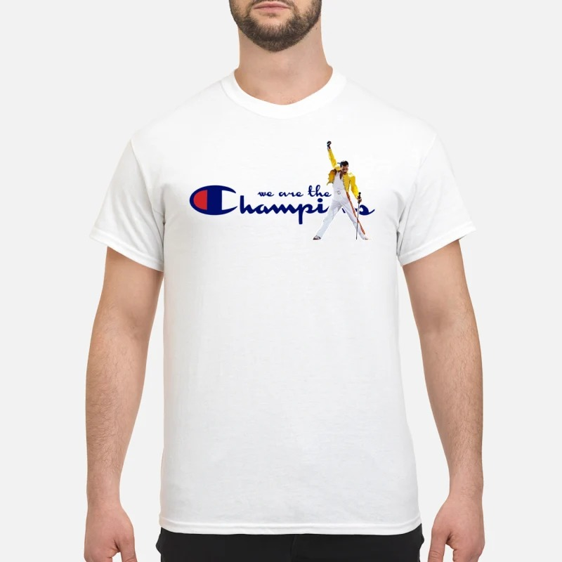 525bc4bb we are the champion Freddie Mercury t shirt