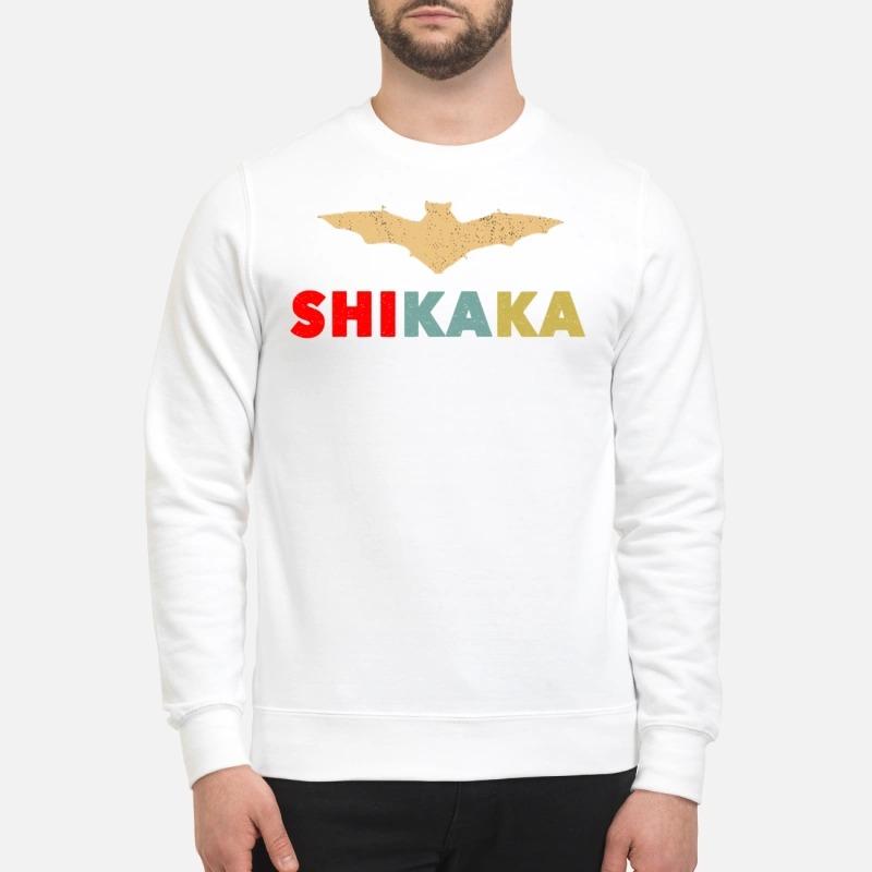Ace Venture Bat shikaka sweatshirt