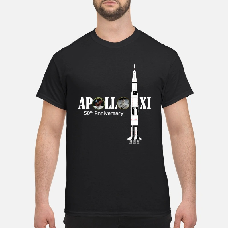Apollo XI 50th anniversary classic shirt