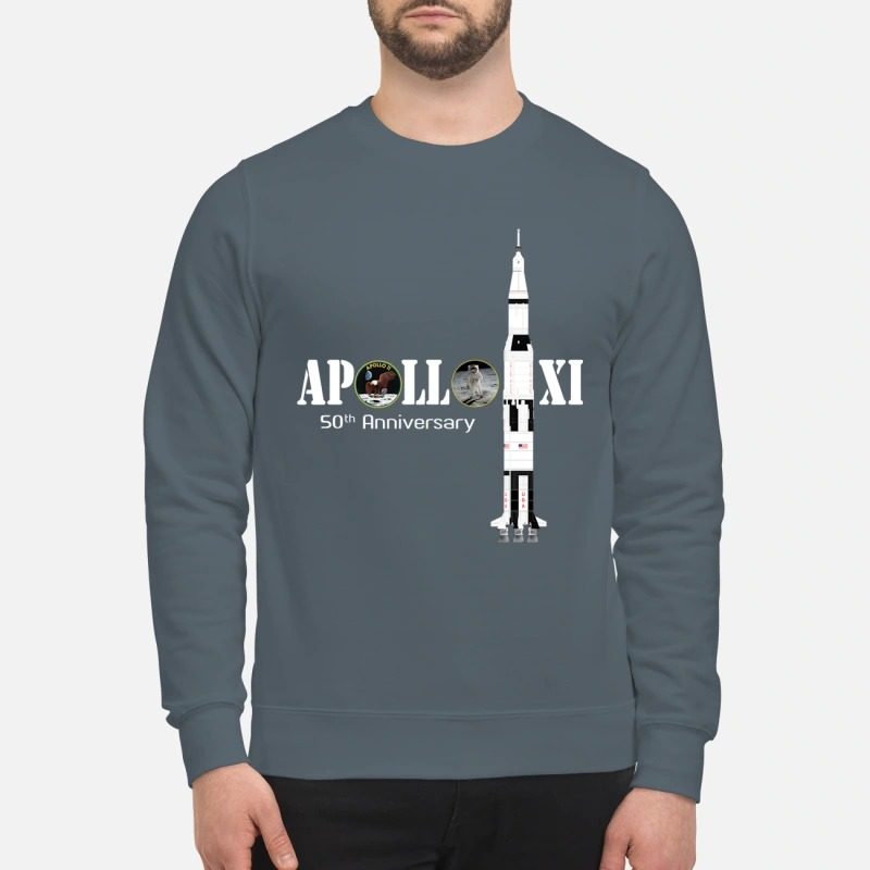 Apollo XI 50th anniversary sweatshirt