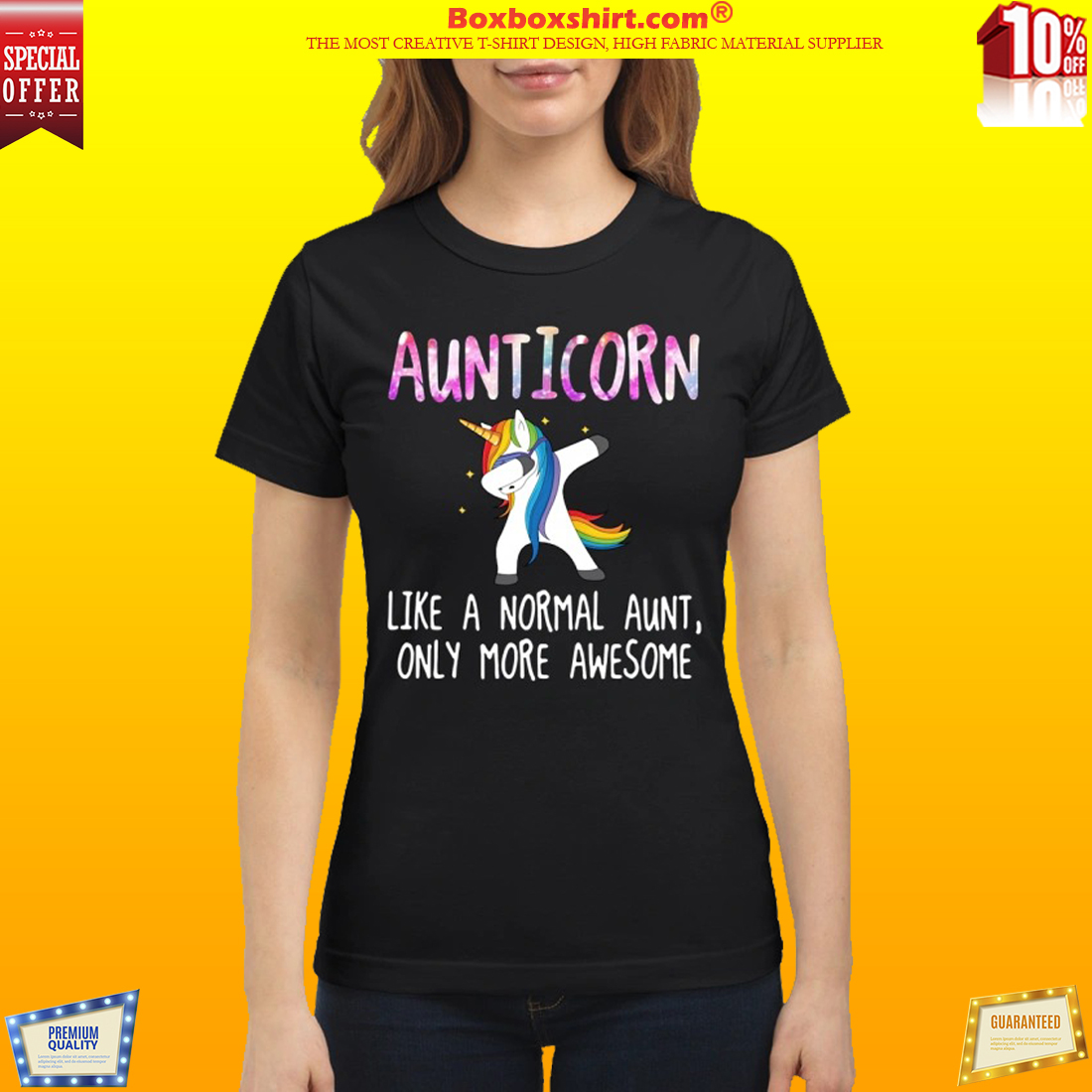 49be16b25 HOTTEST] Aunticorn dabbing like a normal aunt only more awesome