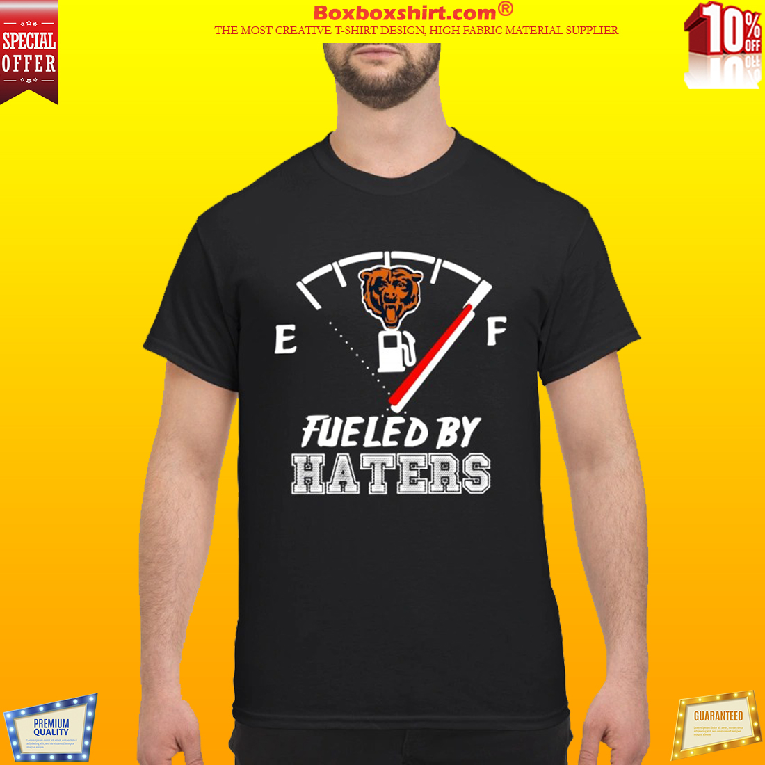 Chicago bears fueled by haters classic shirt
