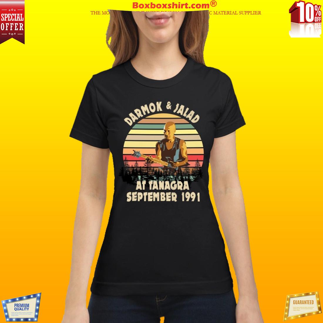 Darmok and Jalad at Tanagra September classic shirt