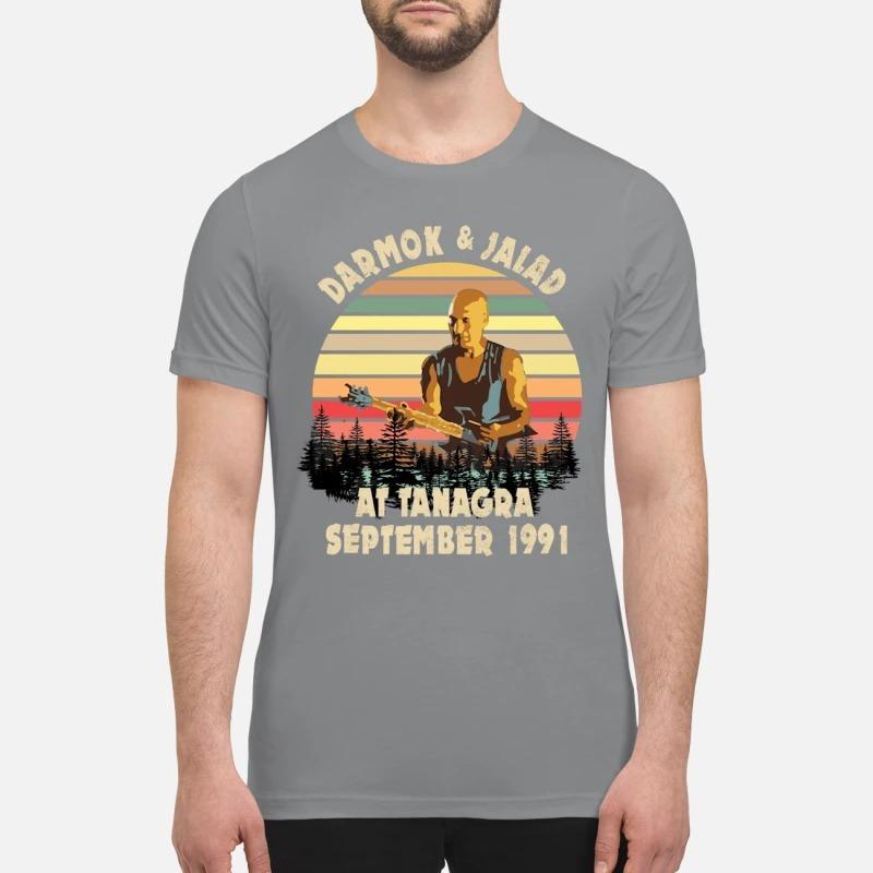 Darmok and Jalad at Tanagra September premium shirt