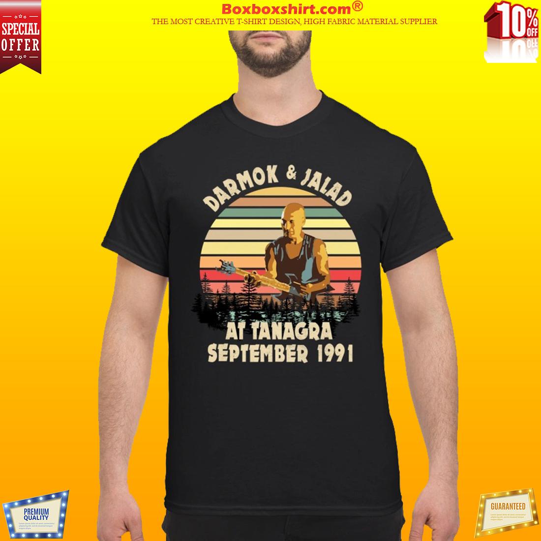Darmok and Jalad at Tanagra September shirt