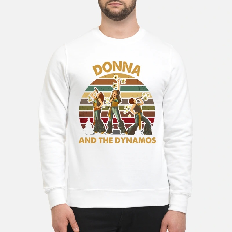 Donna and the dynamos costume  sweatshirt