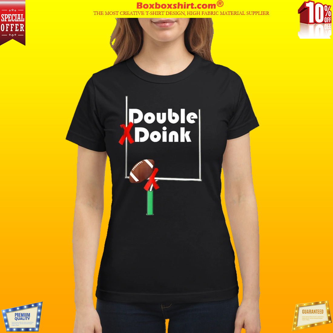 Double Doink Football classic shirt