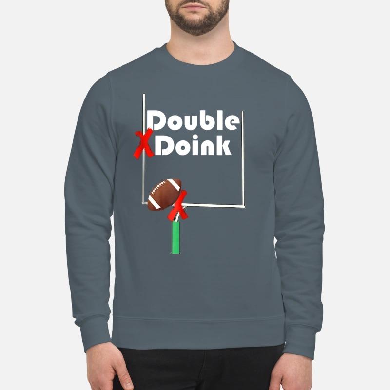 Double Doink Football sweatshirt