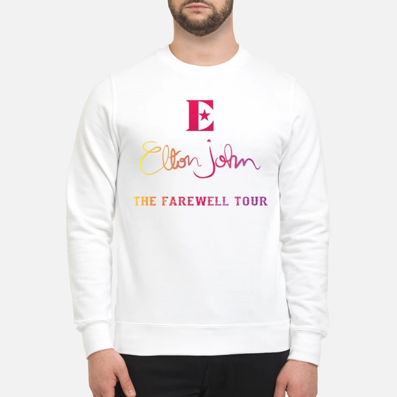 Elton John the farewell tour sweatshirt