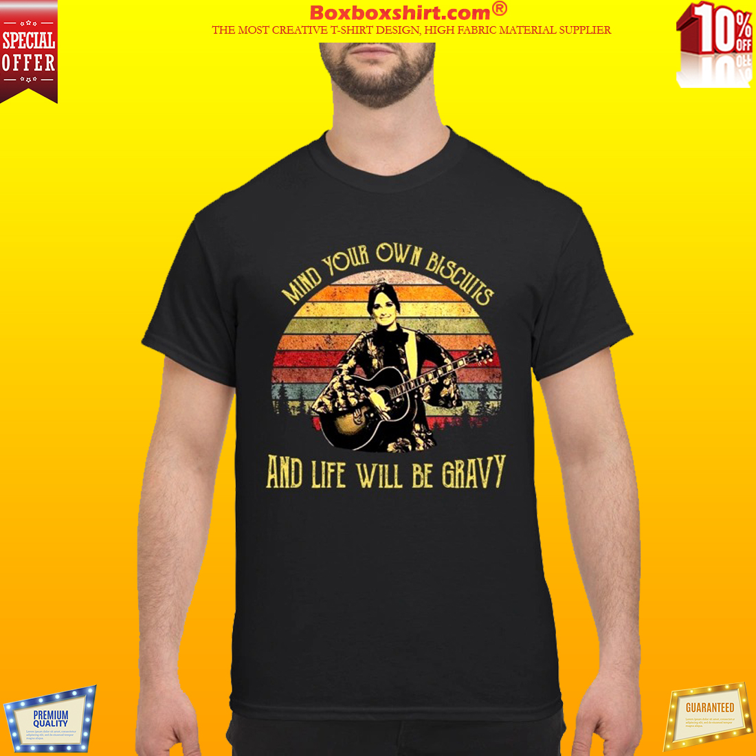 Kacey Musgraves Mind your own biscuits and life will be gravy classic shirt
