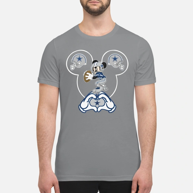 Mickey Mouse Dallas Cowboys premium shirt