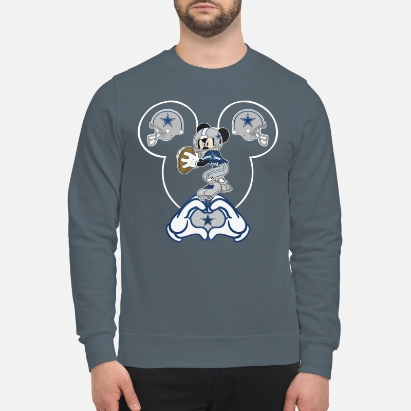 Mickey Mouse Dallas Cowboys sweatshirt