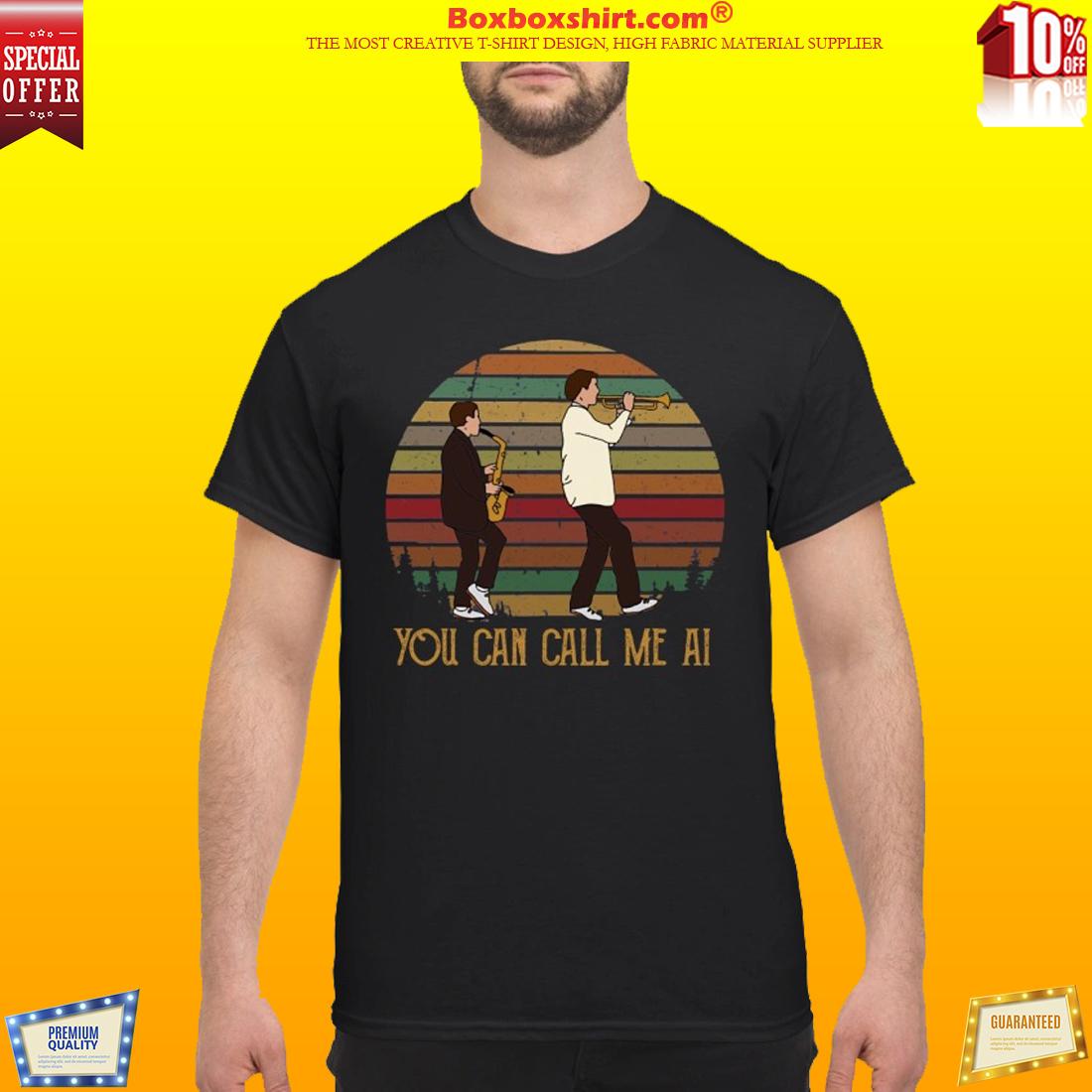 Paul Simon You can call me AI shirt