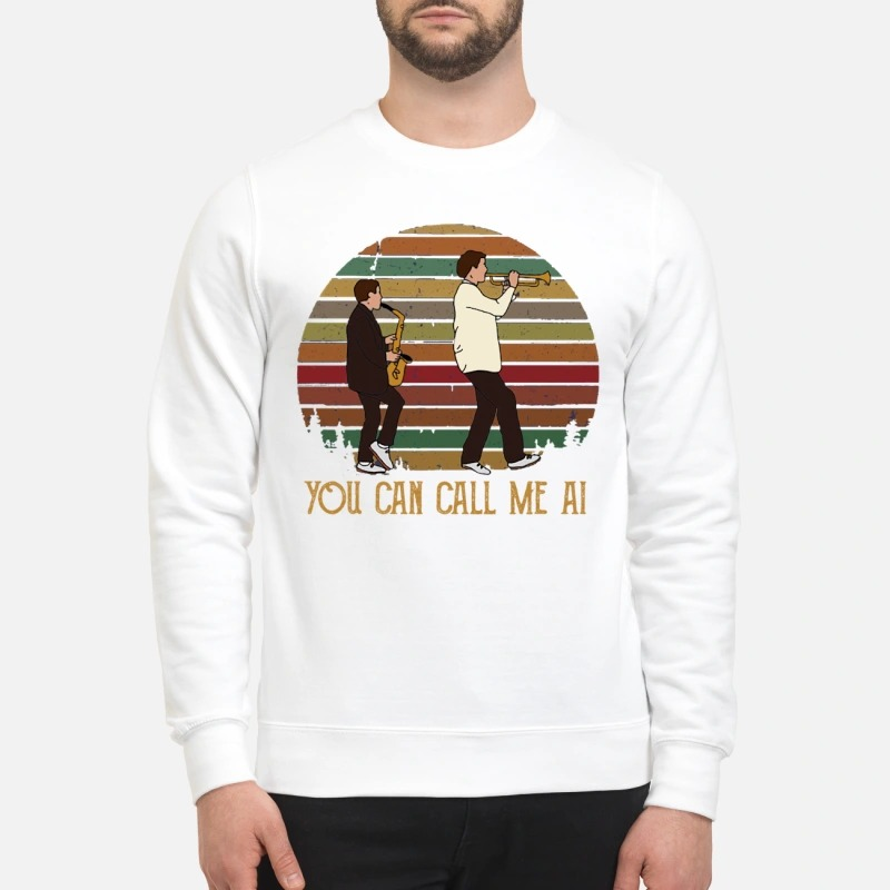 Paul Simon You can call me AI sweatshirt