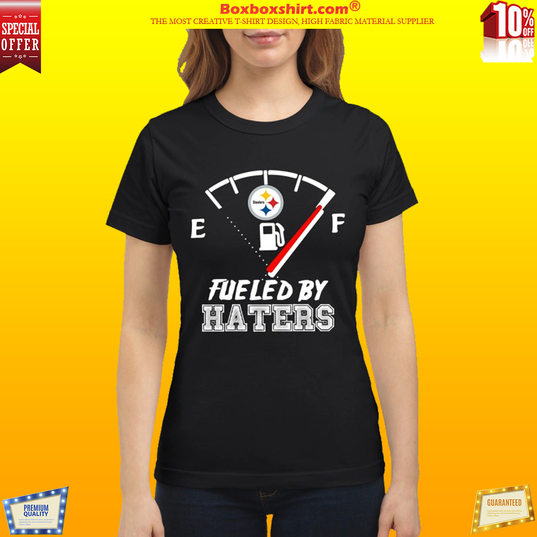 Pittsburgh Steelers fueled by haters classic shirt