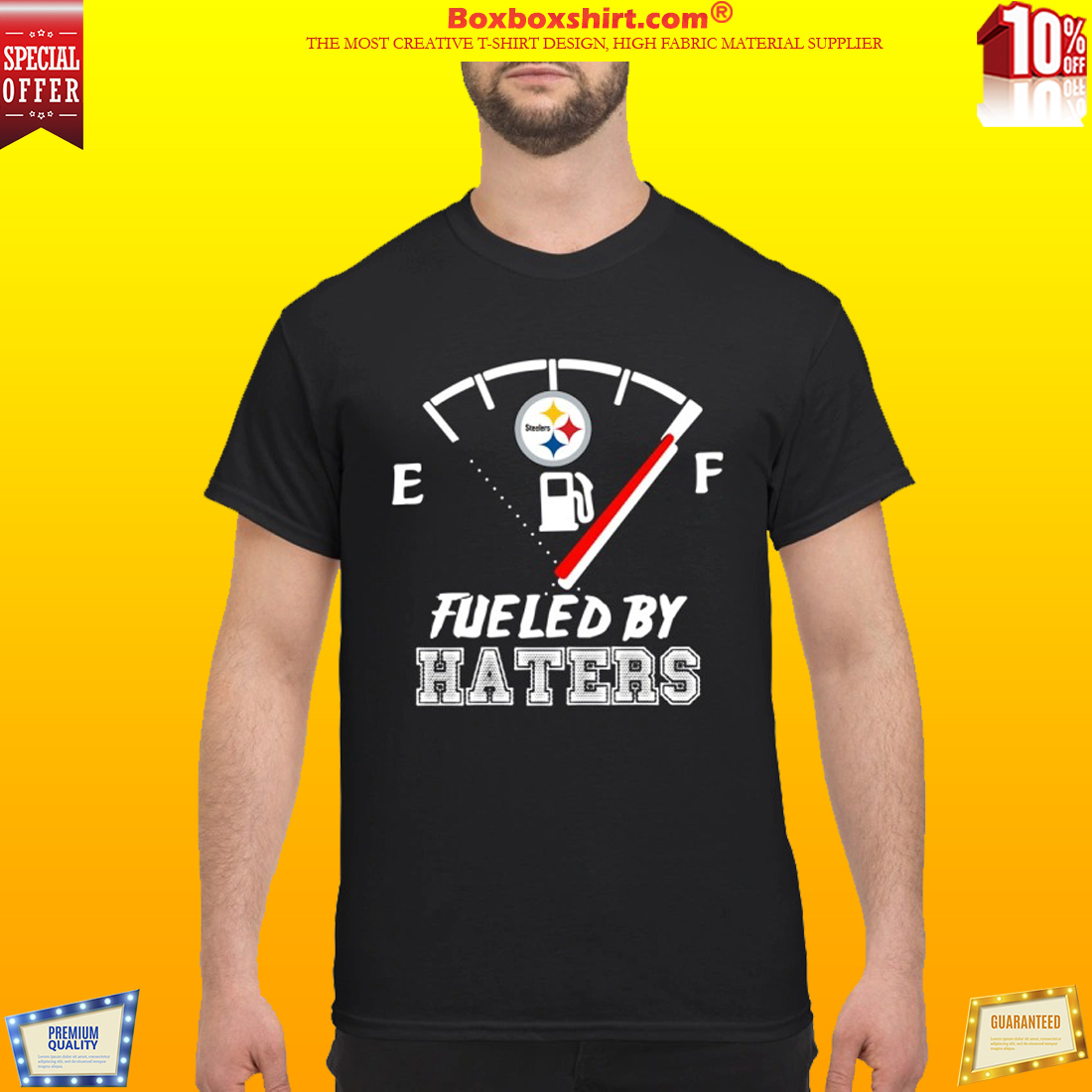 Pittsburgh Steelers fueled by haters shirt