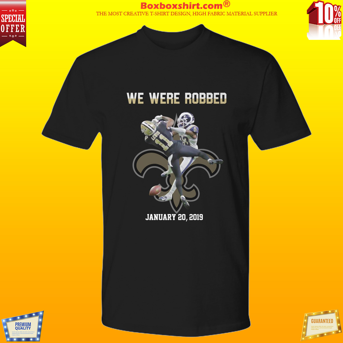 NEWEST  Saint We were robbed January 20 shirt 5e4f6666c