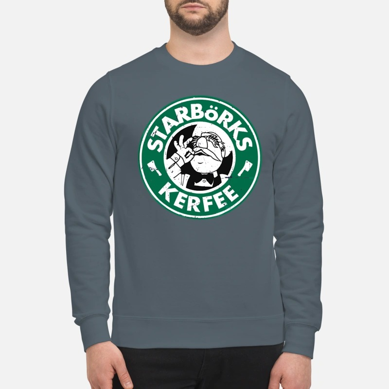 Starborks kerfee swedish chef vintage sweatshirt