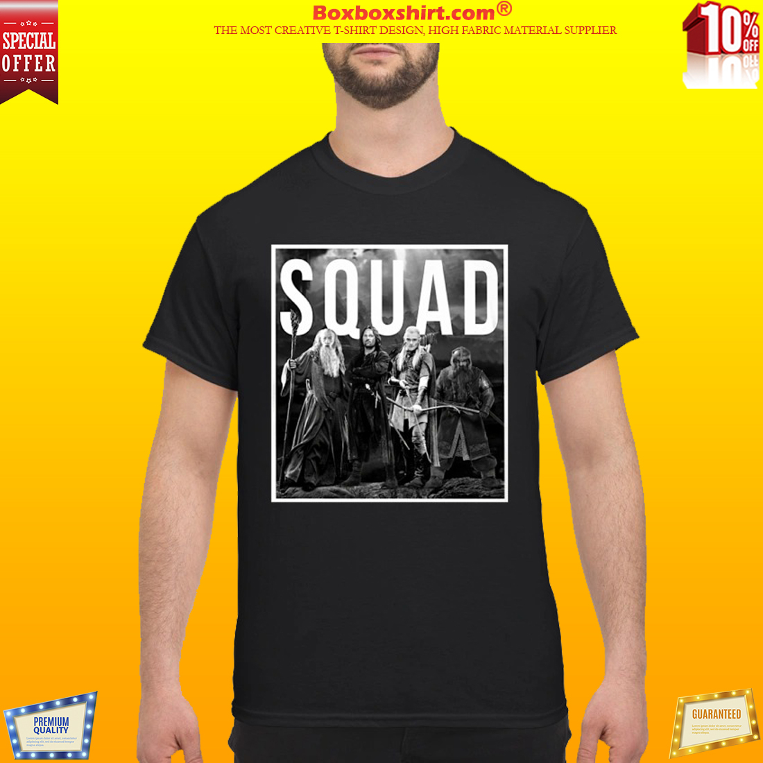 The Lord of the rings squad classic shirt