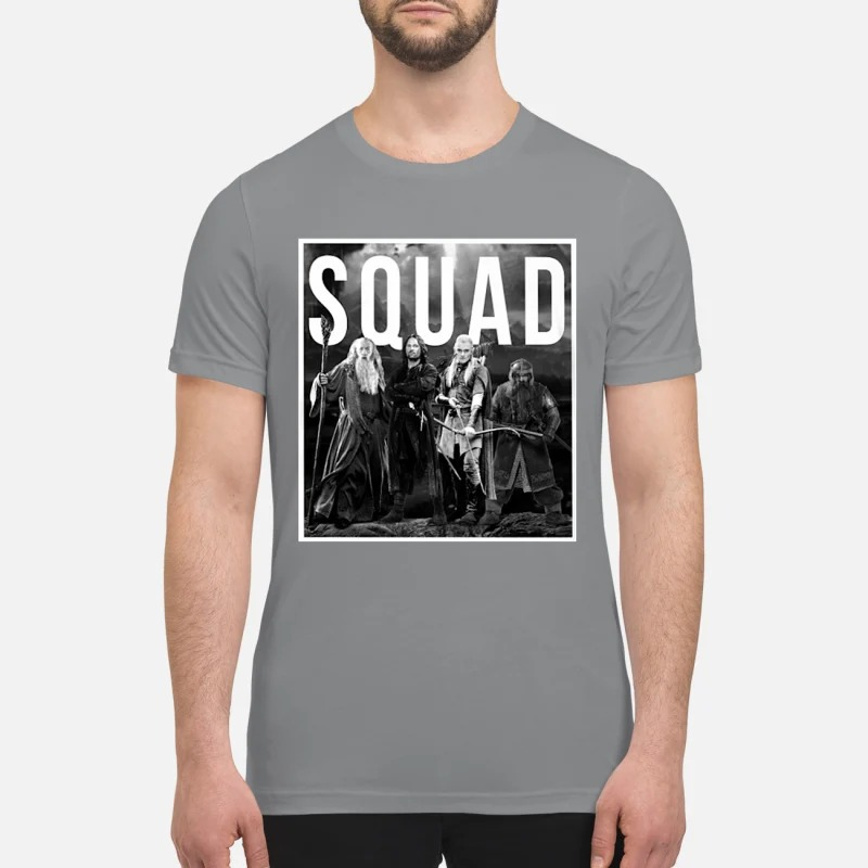 The Lord of the rings squad premium shirt