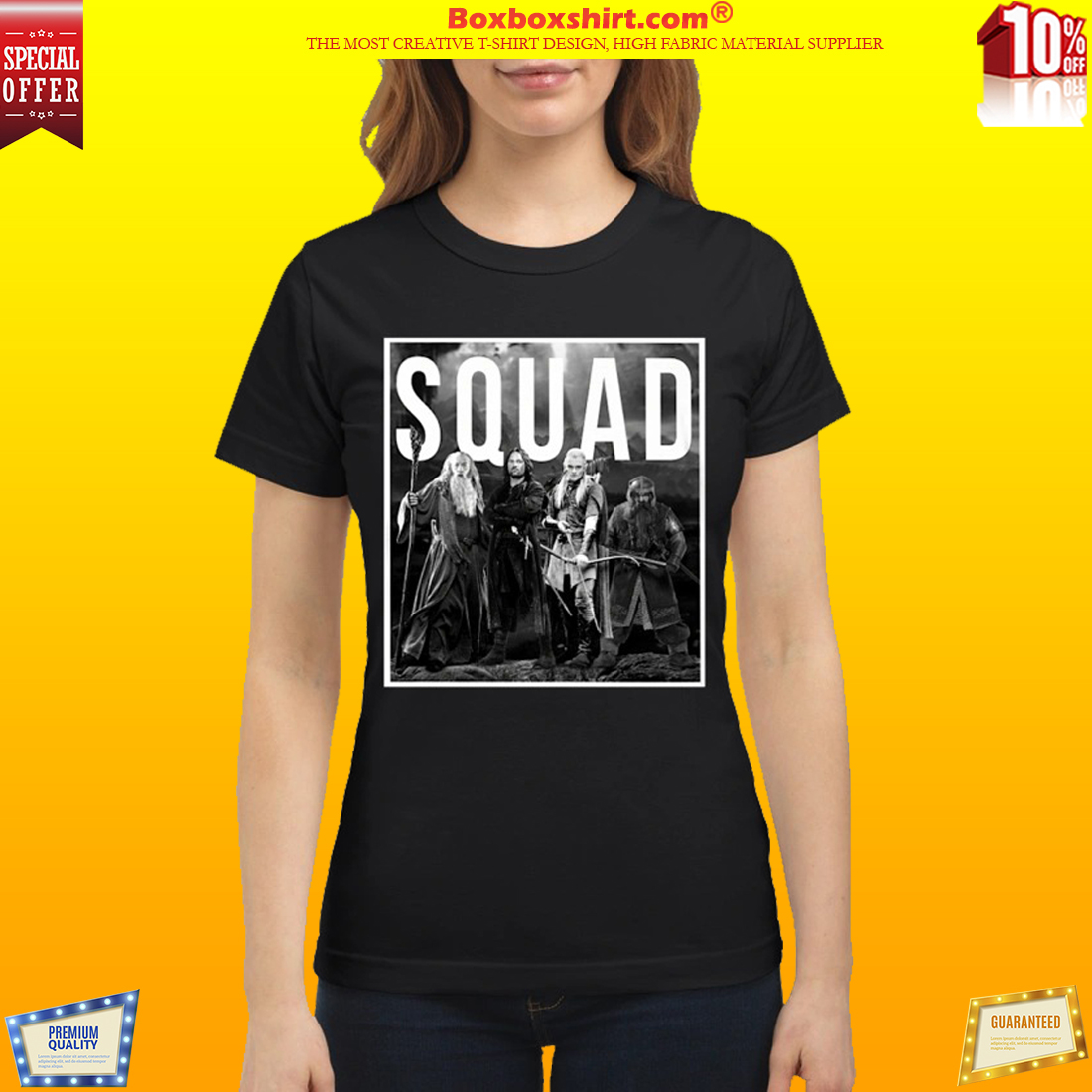 The Lord of the rings squad shirt