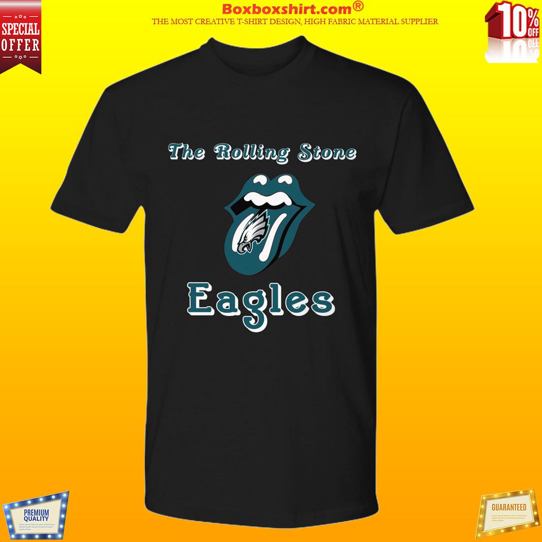 The rolling stone Philadelphia Eagles premium shirt