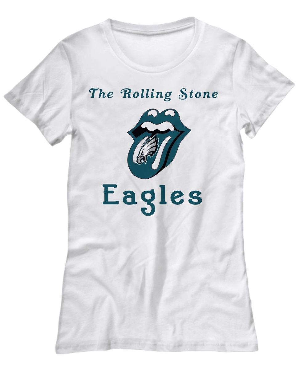 The rolling stone Philadelphia Eagles women's shirt