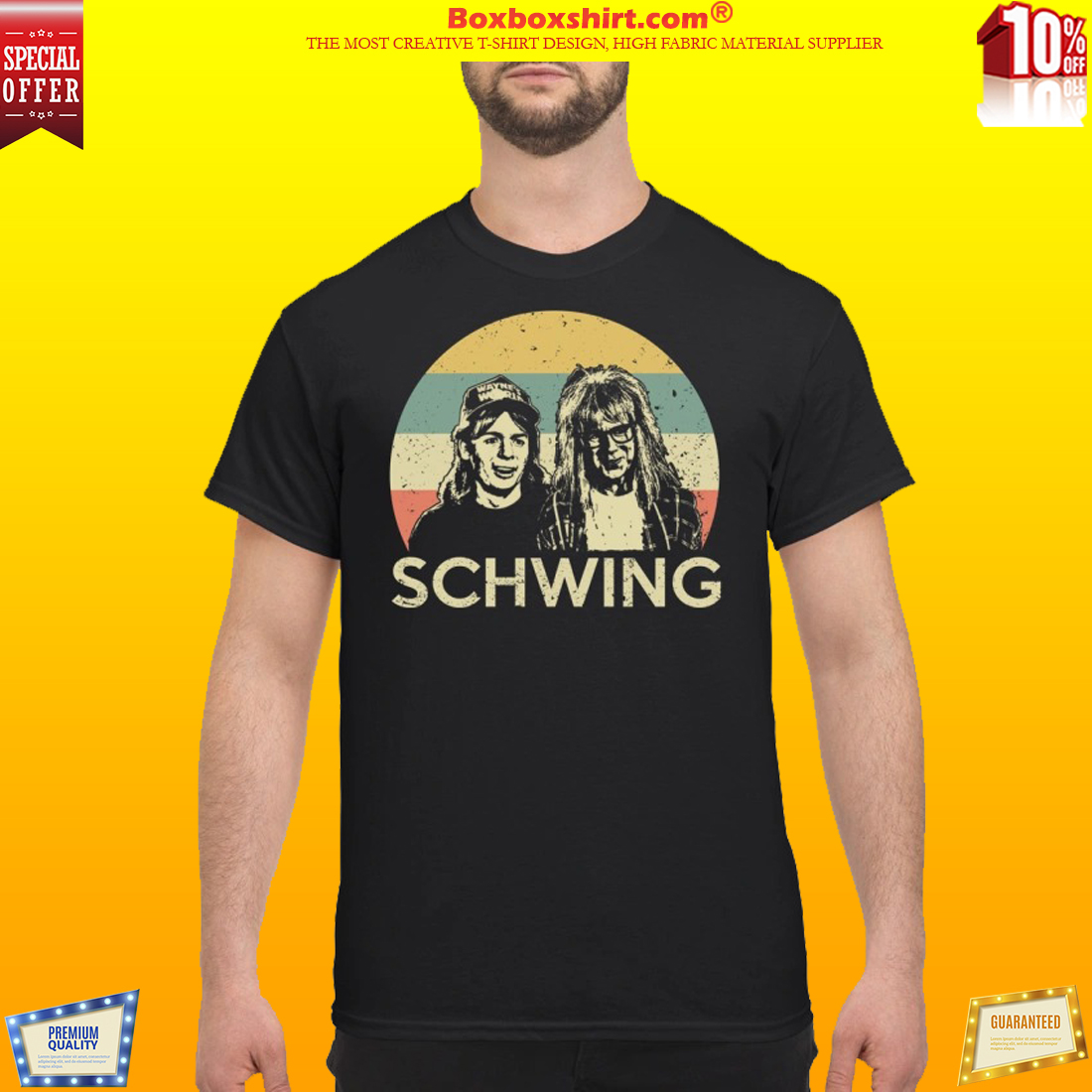 Wayne campbell and Garth algar Schwing classic shirt