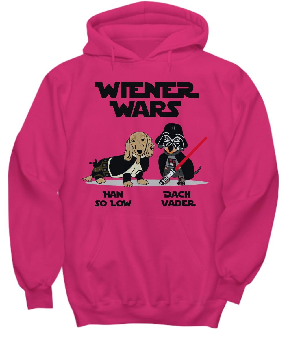 Wiener wars Han So Low Dach Vader shirt and hoodie