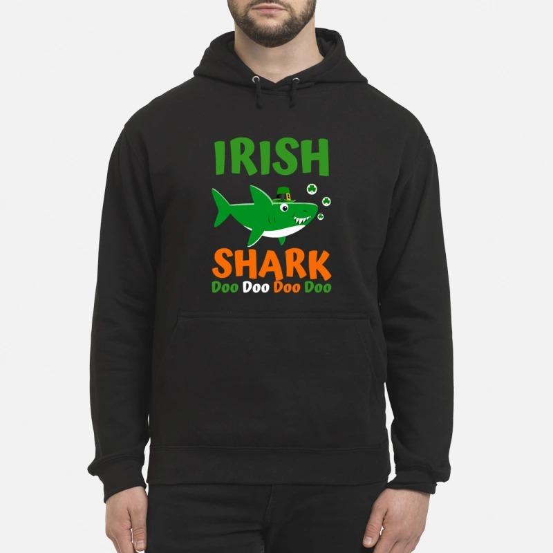 Irish shark doo doo doo doo unisex hoodie