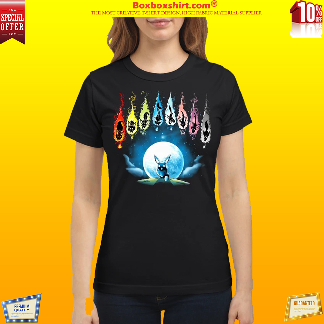 6f28417d HOTTEST] Pokemon Eevee Evolution shirt