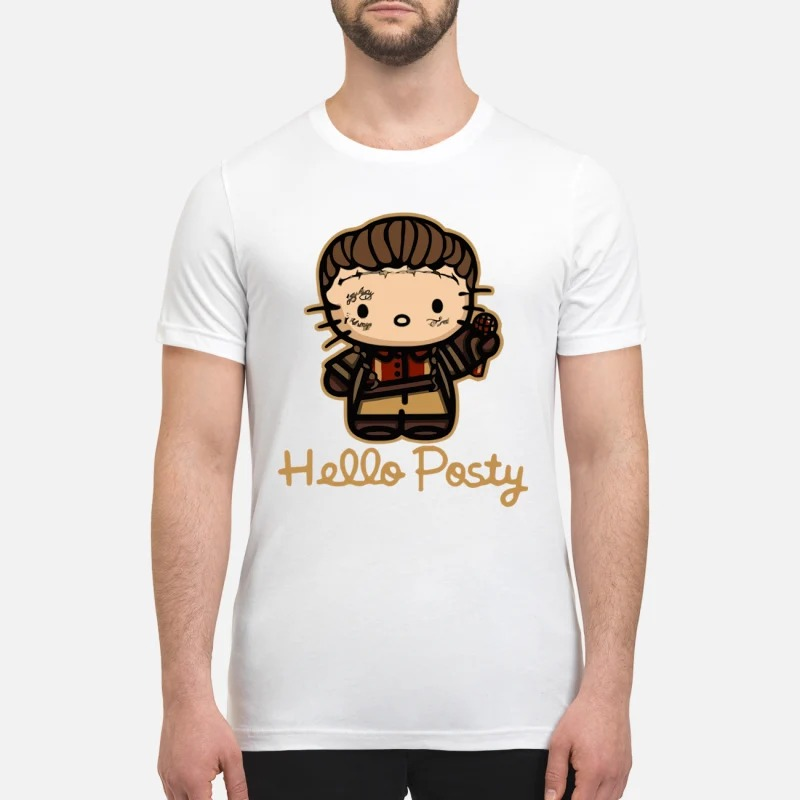 Post Malone Hello posty premium shirt