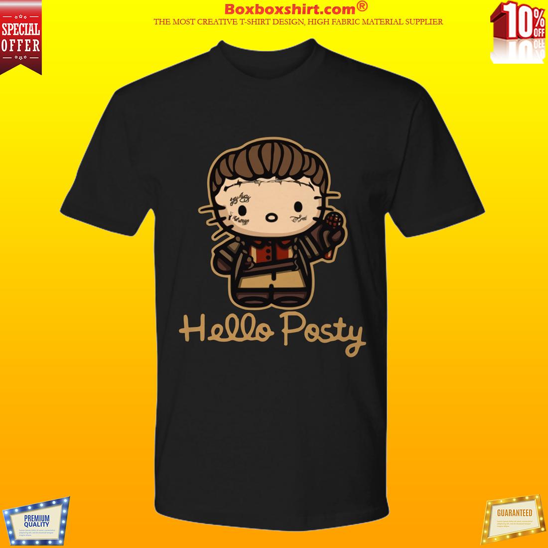 Post Malone Hello posty premium tee shirt
