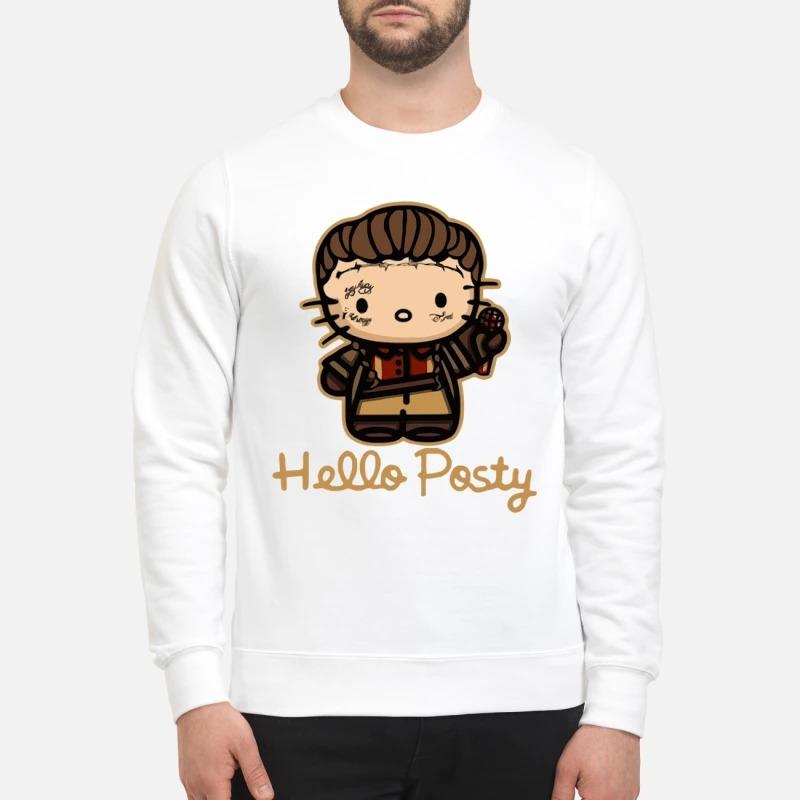 Post Malone Hello posty sweatshirt