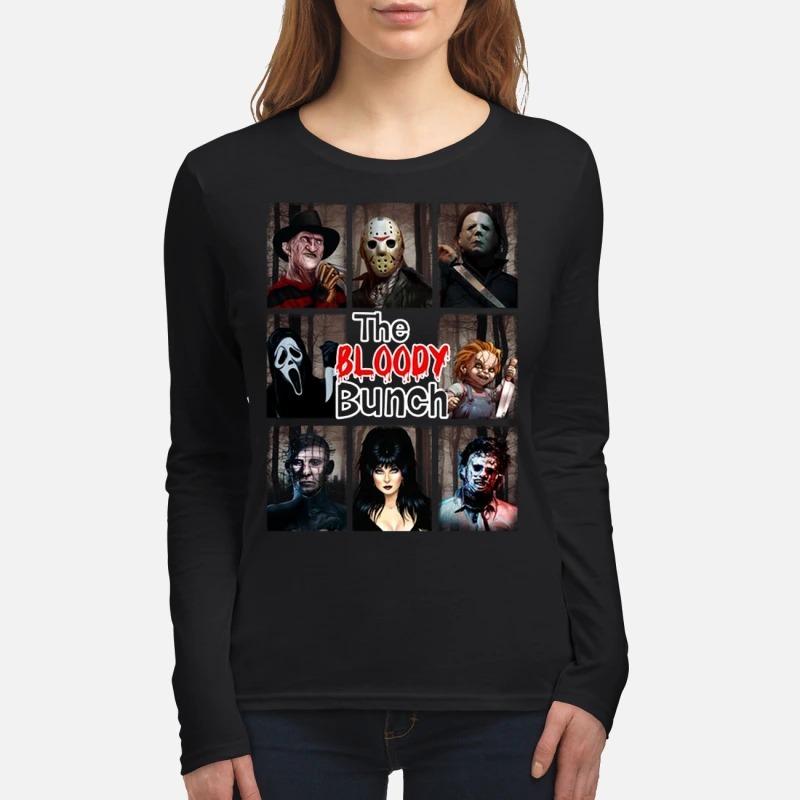The Bloody Bunch women's long sleeved shirt