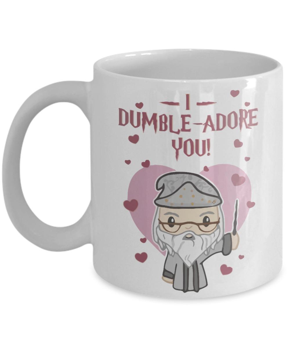 Valentine I dumble adore you mug