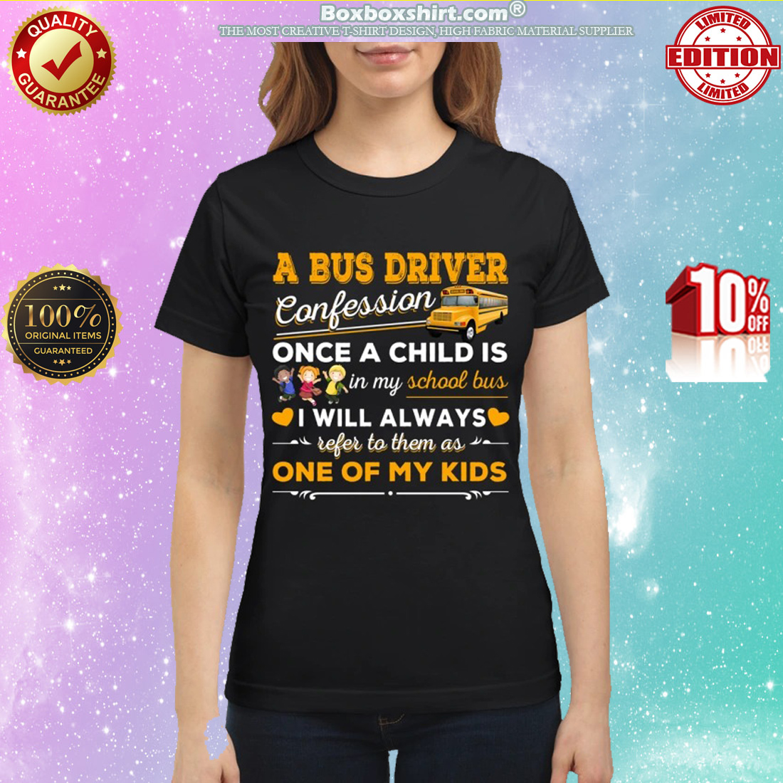 A bus driver confession once a child is in my school bus classic shirt