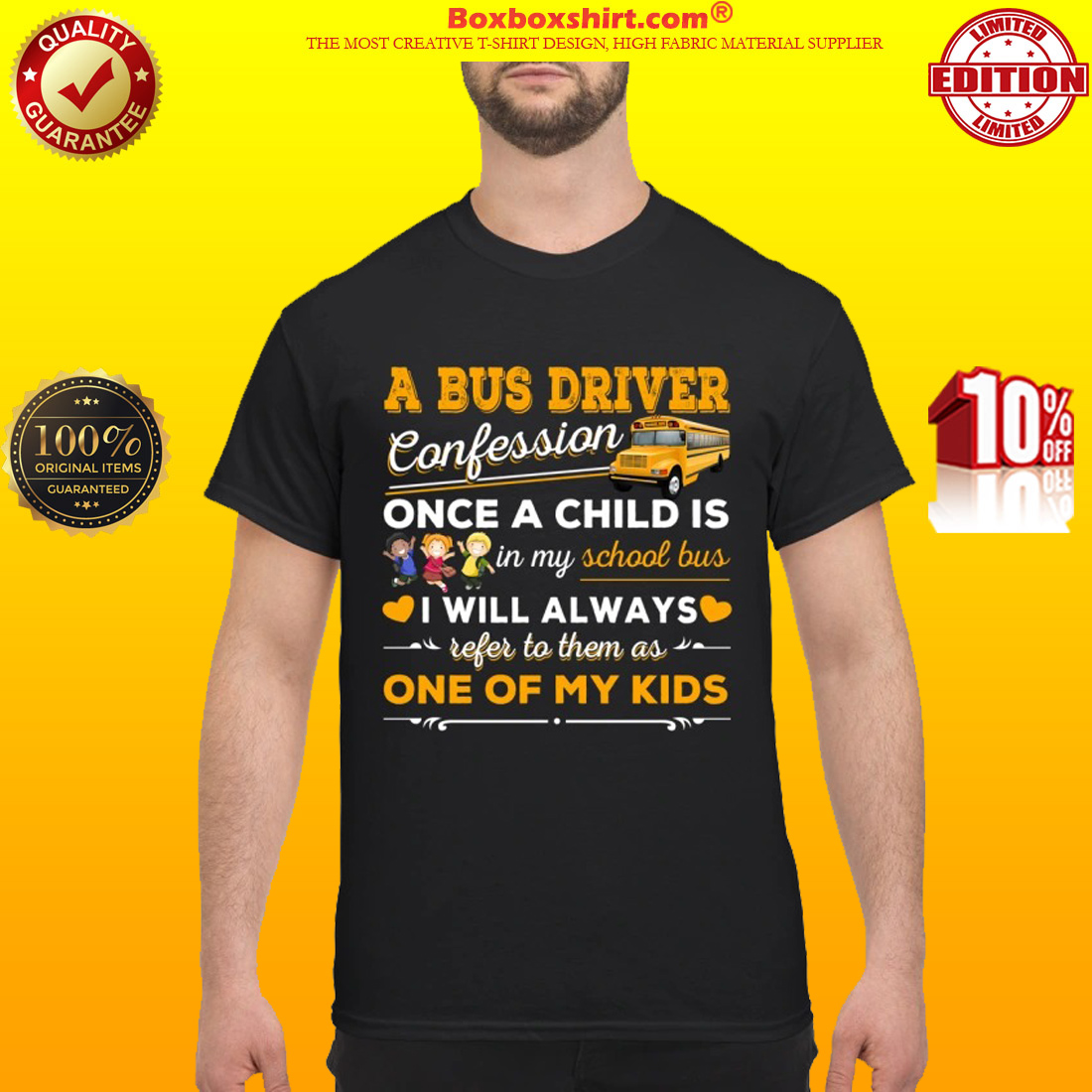 A bus driver confession once a child is in my school bus shirt