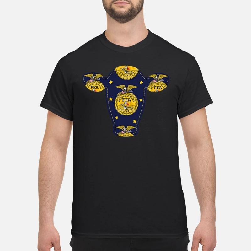 Agricultural FFA cow head classic shirt