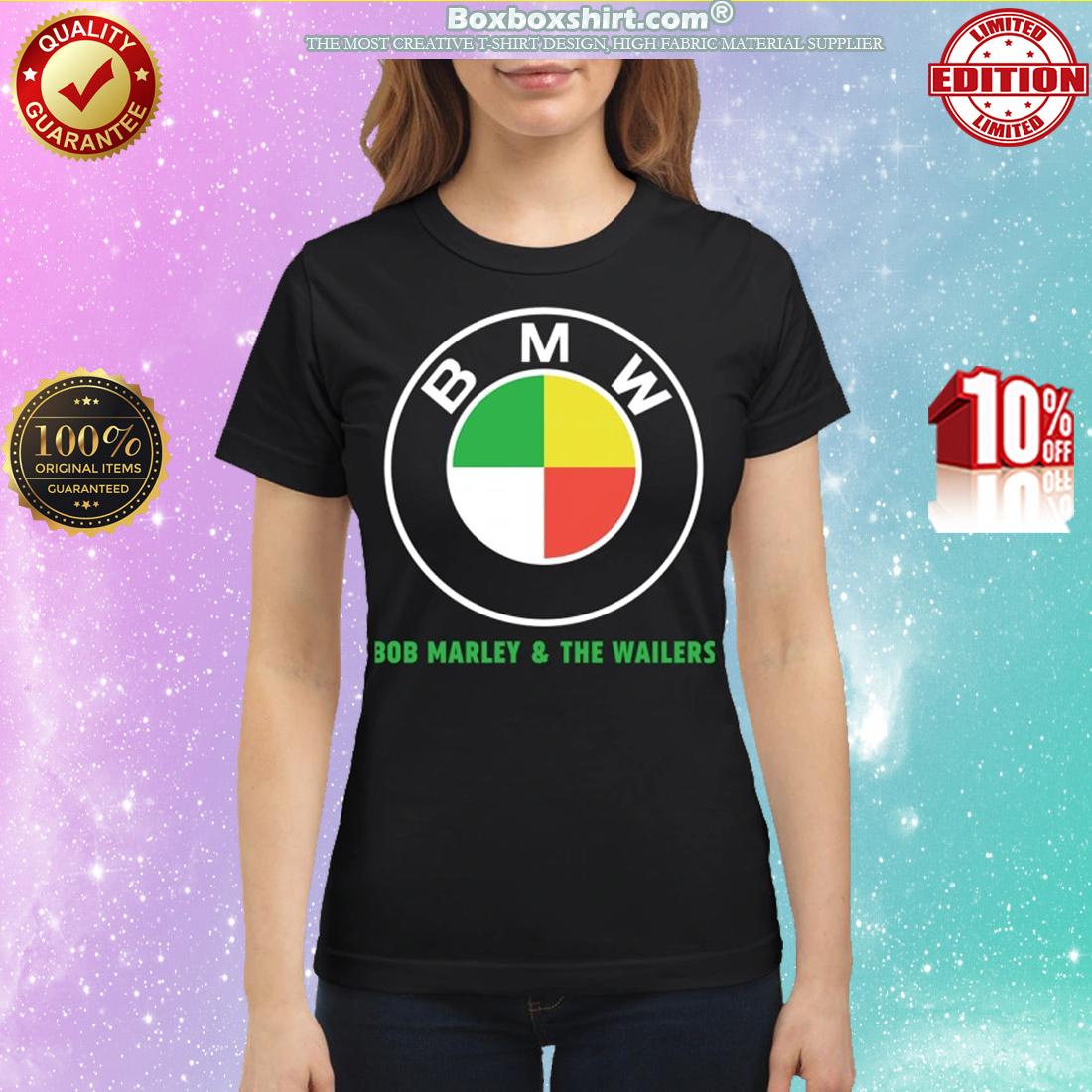 BMW Bob Marley and the Wailers classic shirt