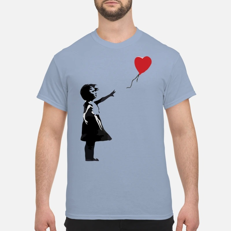 Banksy balloon girl classic shirt