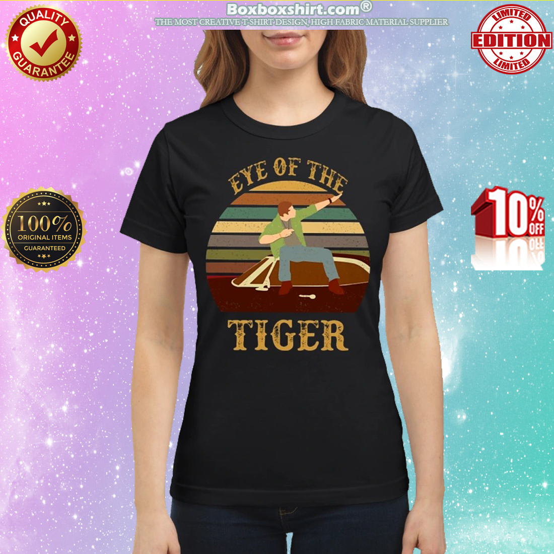 Dean Winchester eye of the tiger classic shirt