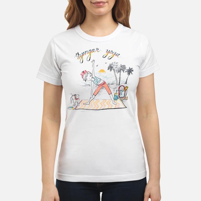 Iyengar yoga girl shirt