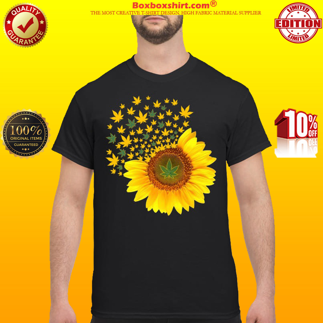 Sunflower weed classic shirt