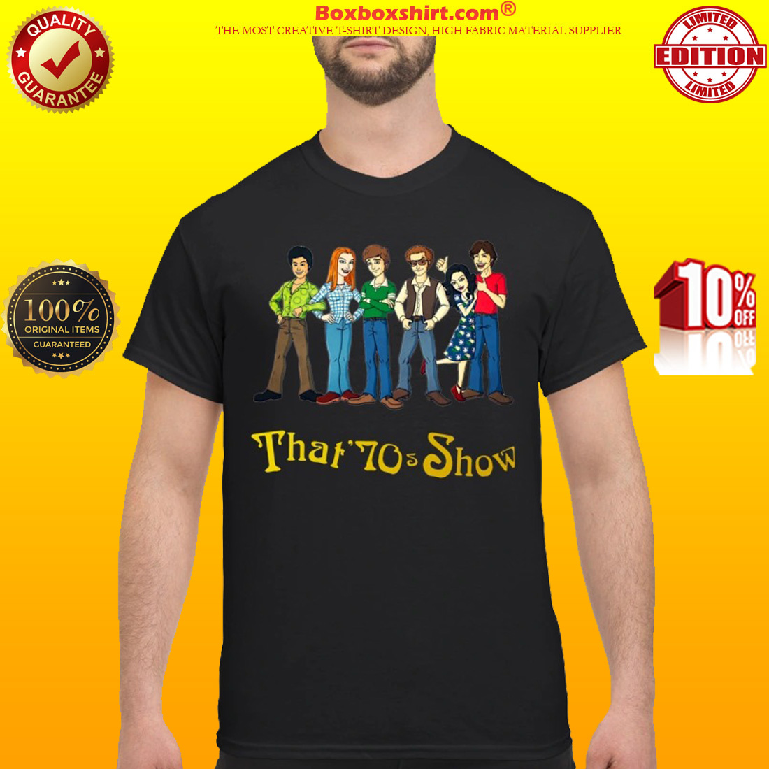 That 70s show cartoon classic shirt