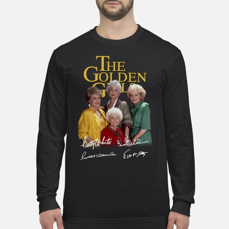 The Golden girl signatures men's long sleeved shirt