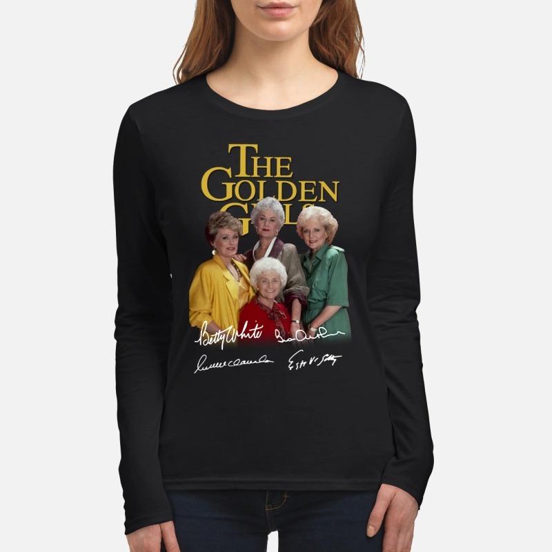 The Golden girl signatures women's long sleeved shirt